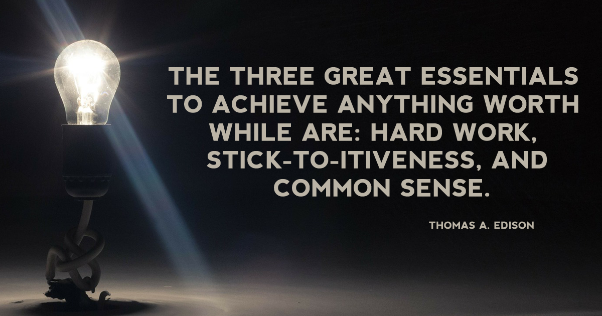 Three Essentials to Success